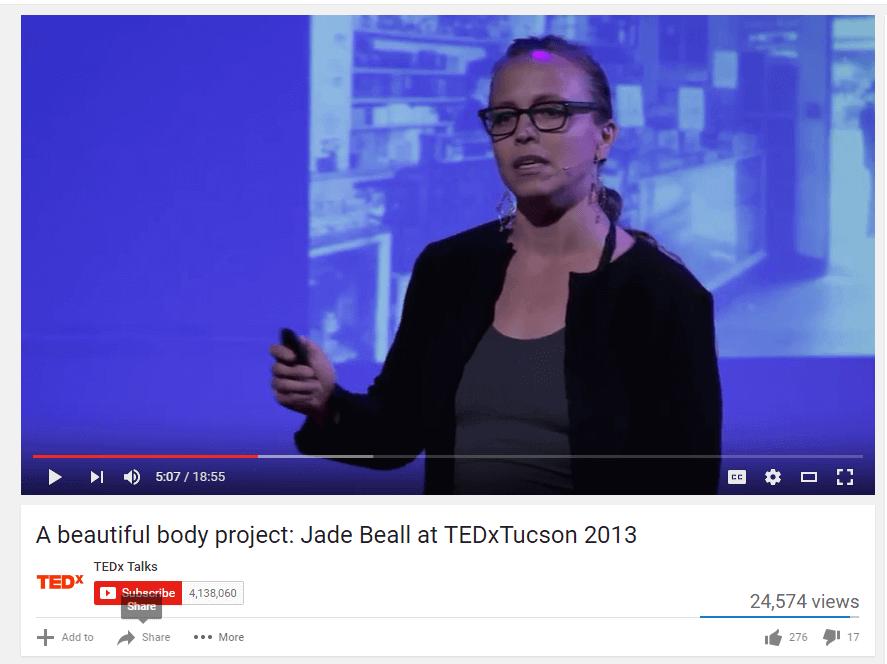 mercati fotografici emergenti: jade beall parla al TED