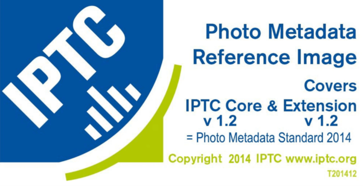 copyright metadati foto iptc standard 2014