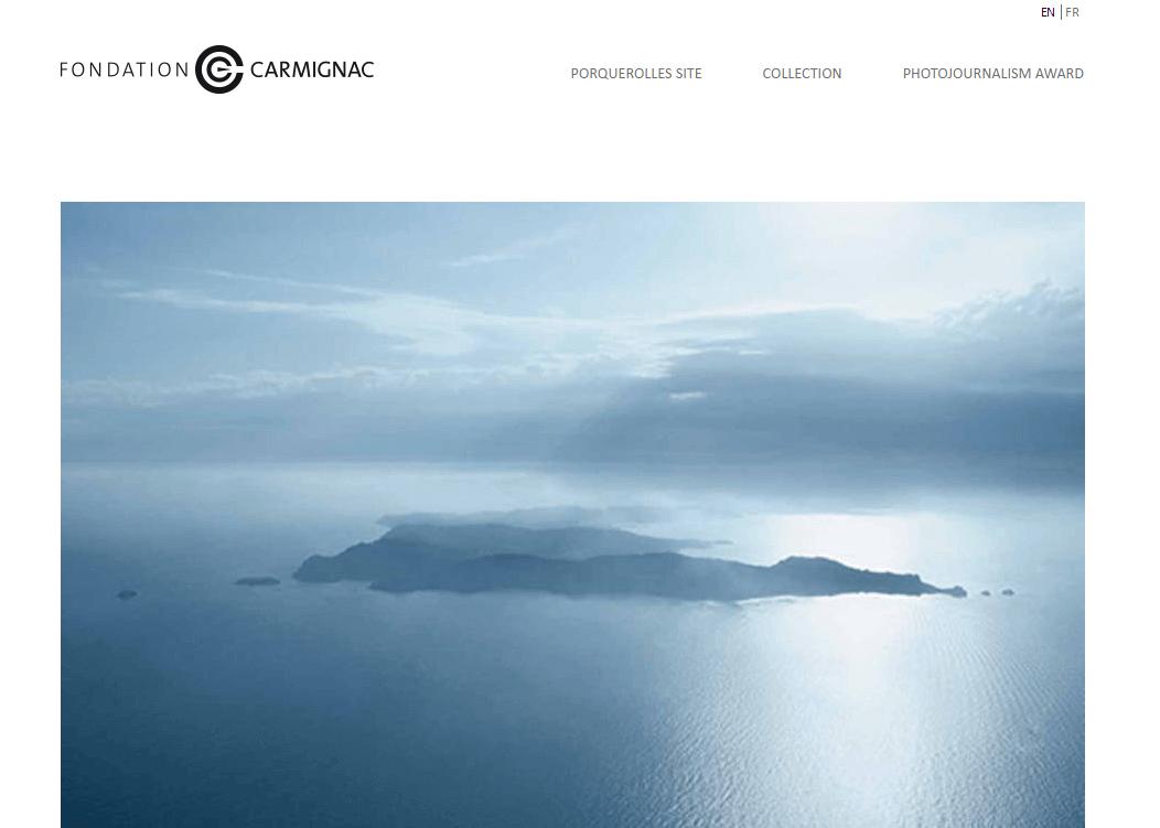 fondazione carmignac home page portfolio fotografico