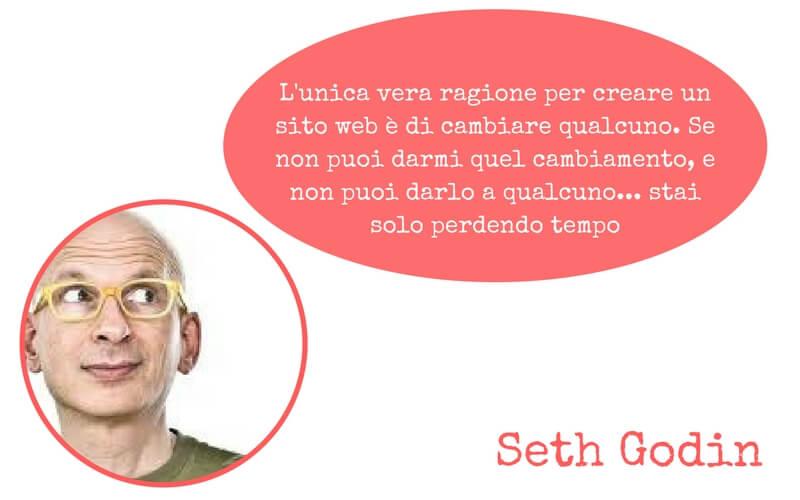seth godin citazione sito fotografico