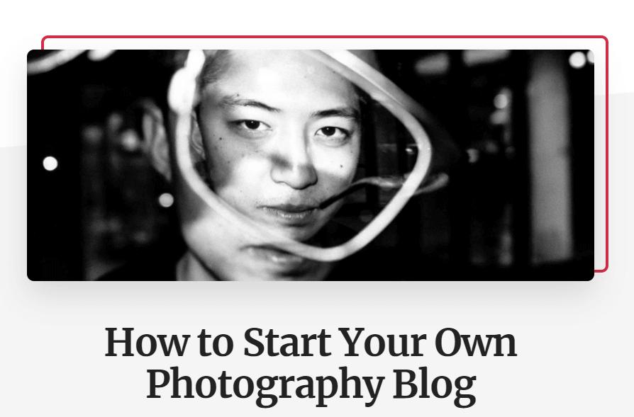blog di fotografia eric kim consigli blog post