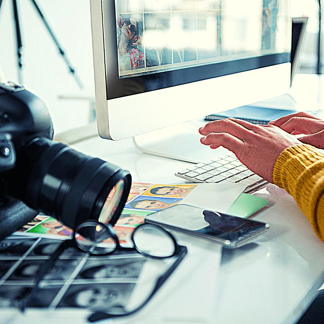 post produzione foto editing fotografico computer