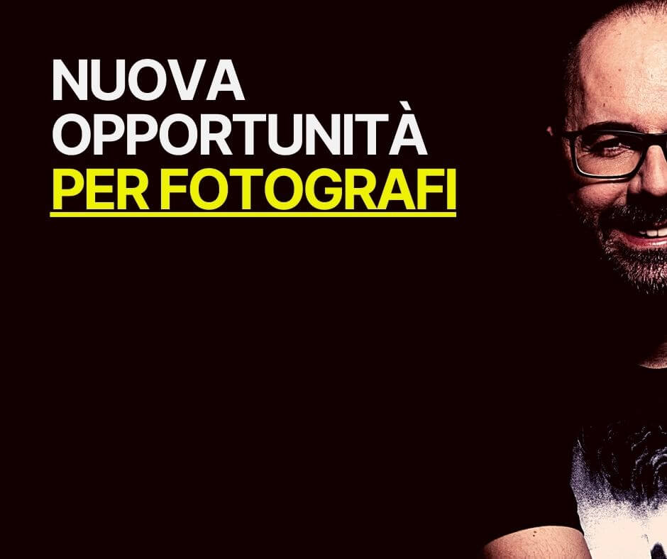 nuova opportunità per fotografi